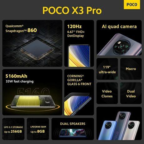 Poco X3 Pro 6/128Gb bronze Флагман за копійки