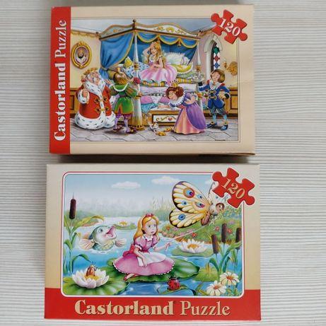 Пазлы Castorland Puzzle 120 б/у в идеальном состоянии
