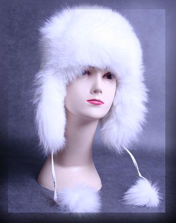 czapka z lisa