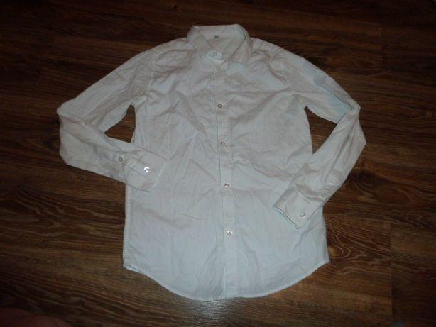 Marks&Spencer Крутая белая рубашка на 13-14 лет