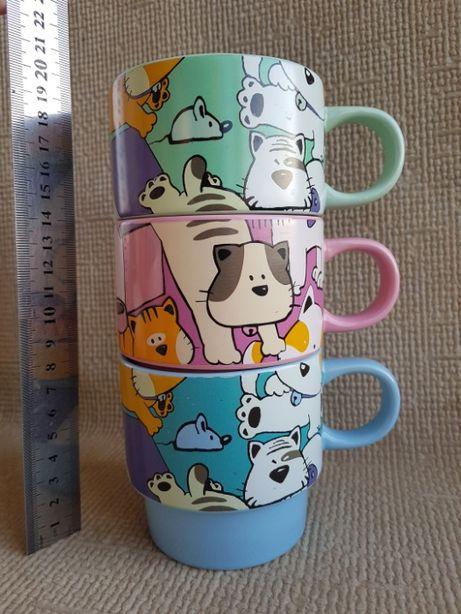 Интересные детские чашки-вставляшки. Отличные