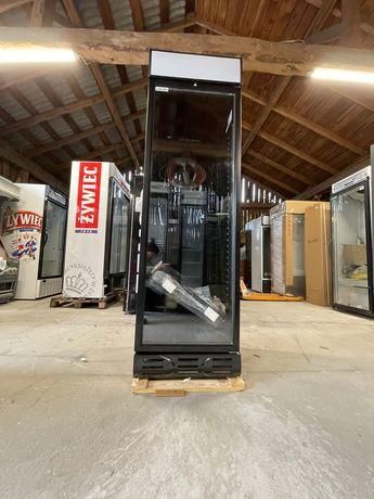 NOWA czarna witryna przeszklona chłodnicza 60cm lodówka