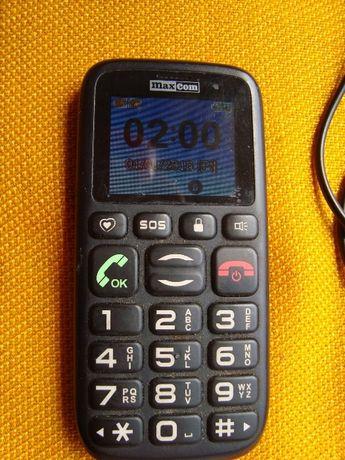 telefon dla starszej osoby Maxcom-MM 428BB+ładowaerka