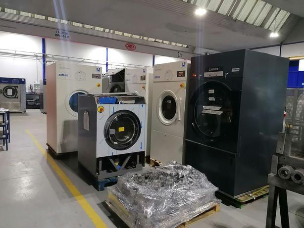 Reciclagem de equipamentos lavandaria self service