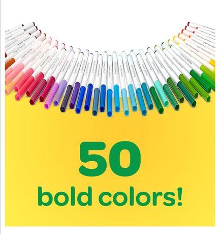 Смываемые фломастеры Crayola 50 шт.