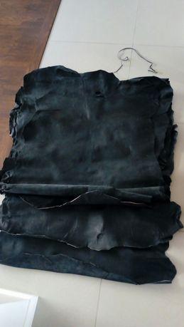 Skóry cielęce czarne