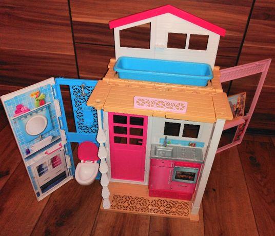 Zestaw domek i toaletka dla lalki Barbie
