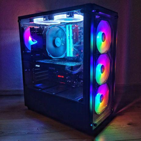 Komputer PC | Ryzen 5 | GTX 1070TI | LED | DO GIER | RGB