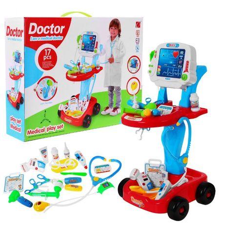 Wózek Małego Lekarza Doktor EKG (660-46)