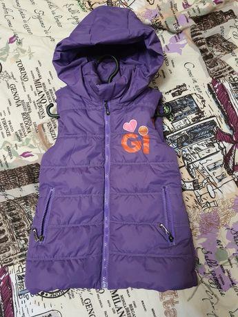 Куртка, плащ, жилет 3 - 5 лет для девочки