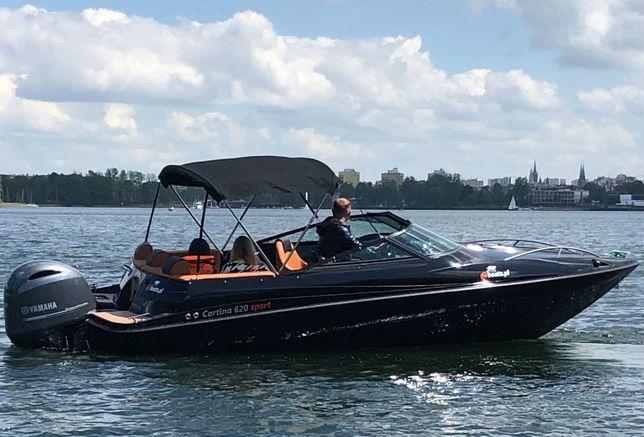 Cortina 620 - nowa łódź motorowa kabinowa od mboats