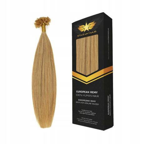 Pasemka Ringi-Keratyna Włosy Naturalne Europejskie 40cm 20x0,5g