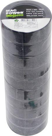 Fita Isoladora, 19mmx10m, 10Un - MAC POWER