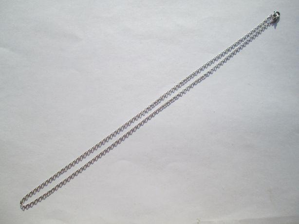 Серебряная цепочка (якорное плетение) Стерлинг.