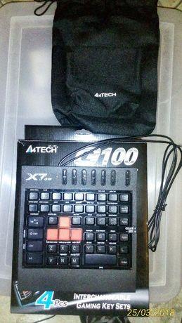teclado gaming, como novo Caixa e bolsa.