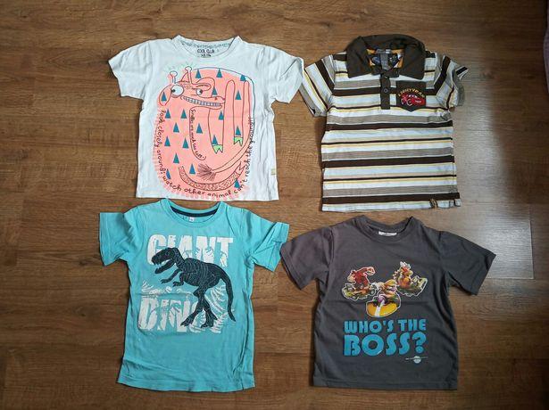 Bluzki, bluzeczki, koszulki, t-shirt chłopięce 110/116 - 9 szt.