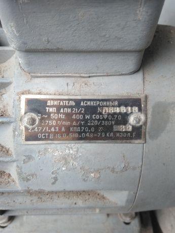 Электродвигатель с улиткой