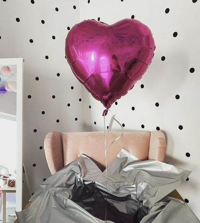 Poczta balonowa, box z balonem