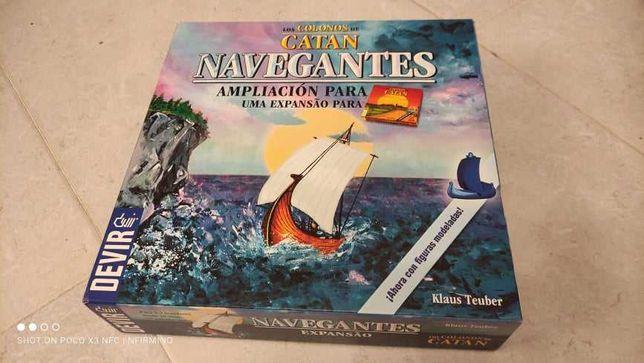 Jogo Catan - Expansão Navegantes (em português)