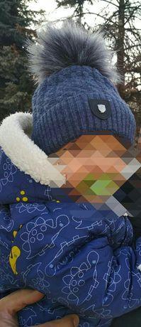 Шапка зима на мальчика