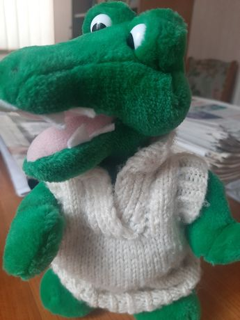 Игрушка Крокодил, м'яка іграшка, Корея