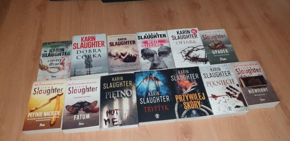 Karin Slaughter 13 książek: Piętno, Pękniecie, Przywilej skóry,Tryptyk Łódź - image 1