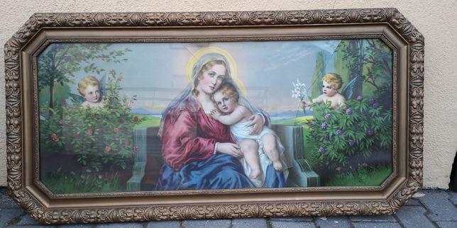 Obraz: Matka Boska z Dzieciątkiem