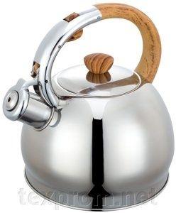 Нержавеющий чайник со свистком, на 2 литра, King Hoff (Польша)