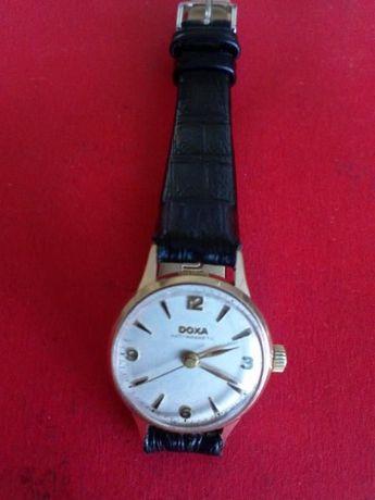 Zegarek naręczny damski złoty DOXA pr;585 14K mechaniczny
