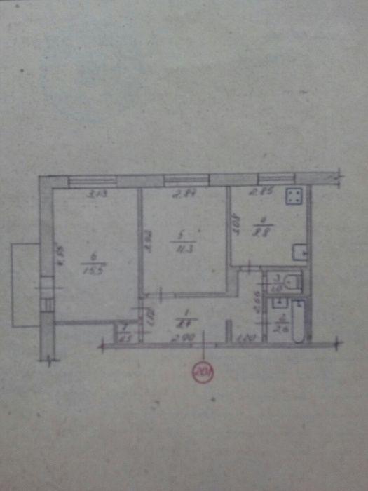 2-х кімнатна квартира Князів Острозьких/Шевченка Житомир - изображение 1
