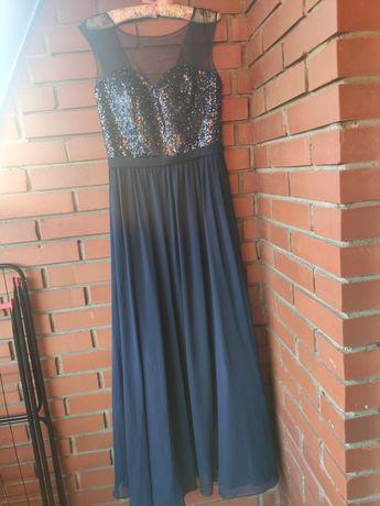 sukienka suknia balowa wesele starsza studniówka M 38