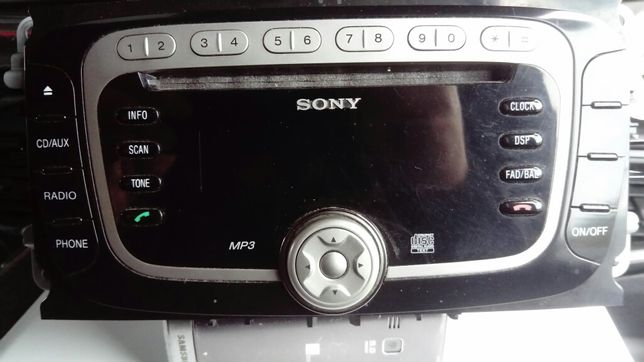 Radi Sony mp3 Ford s max