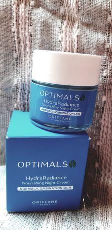 Oriflame Optimals Hydra Radiance krem na noc 50 ml