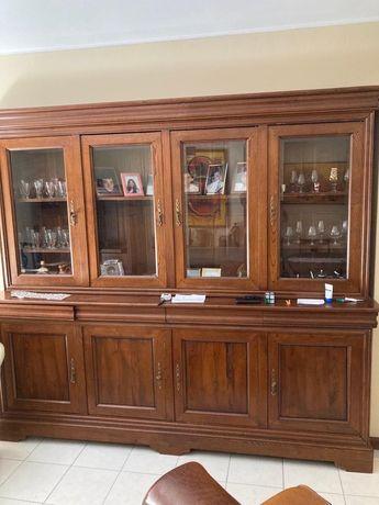 Cristaleira Sala madeira de qualidade