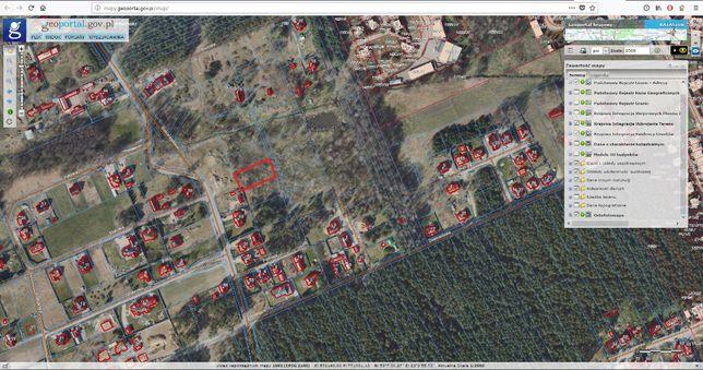Działka Krupniki 1463 m2