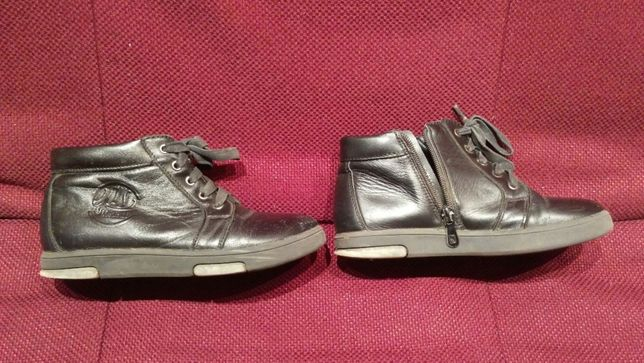 Демисезонные полуботинки, ботинки размер 35, стелька 21.5. Цена 550