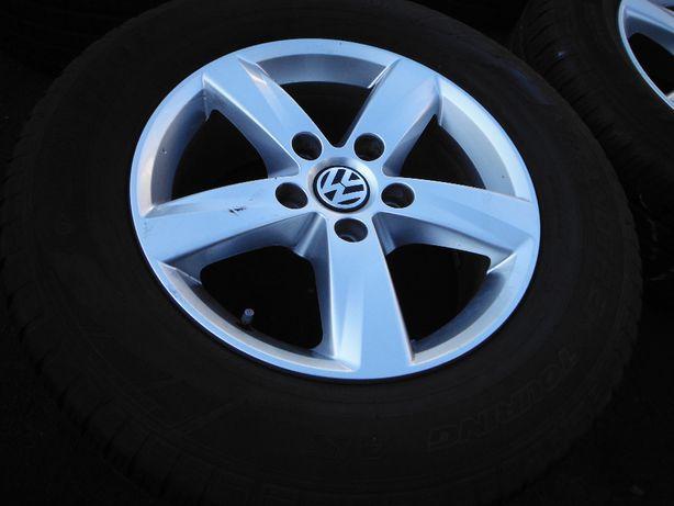 Oryginalne Koła Całoroczne VW Tuareg 255/60/17 Dunlop 2017r