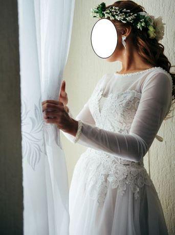 Suknia ślubna rozmiar 36/38 kolor ivory