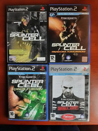 Coleção Splinter Cell playstation 2