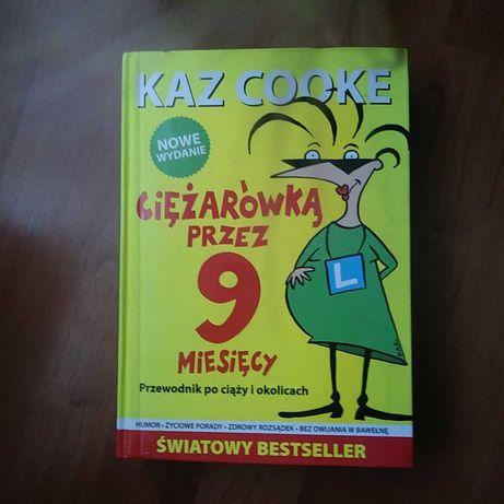 Książka Ciężarówką przez 9 miesięcy. Kaz Cooke. nowe wydanie.