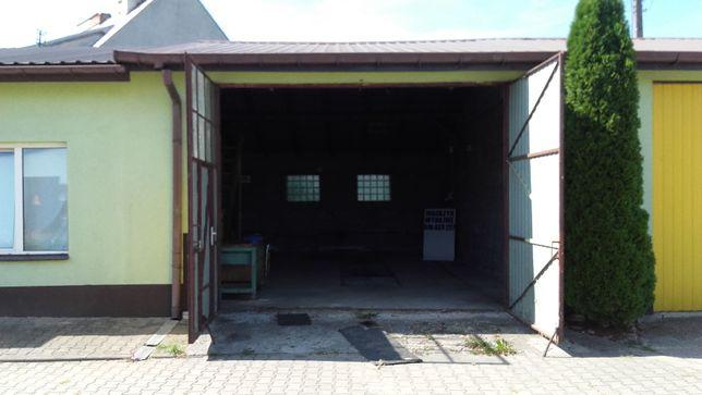 Wynajmę garaż z kanałem 55 m2 + magazyn 26,5 m2 = 81,5 m2 .