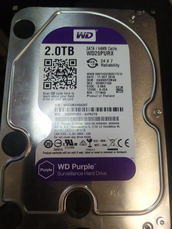 Жёсткий диск HDD WD 2 Tb