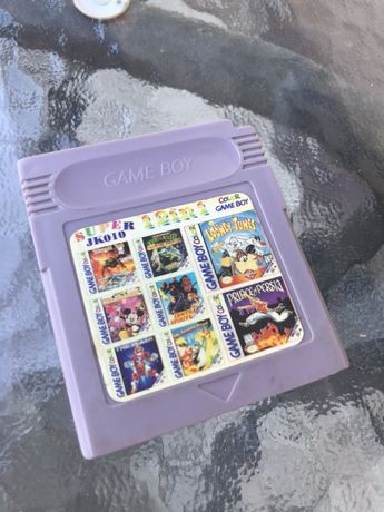 Kartridż GameBoy 12 in 1 (Super JK010) Turtles, Contra i inne