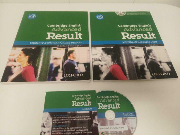 Preparação Exame Inglês - Cambridge C1 Advanced - Results/Oxford Books