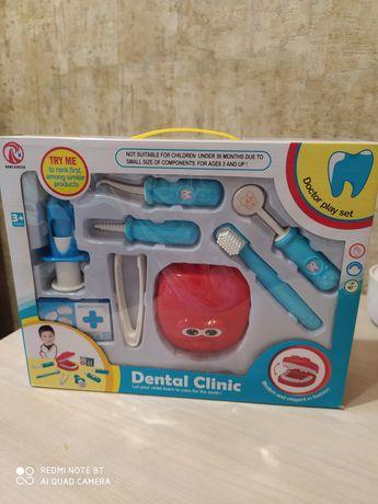 Набор доктор стоматолог игровой ролевая игра для детей,врач