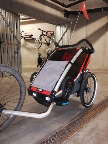 Przyczepka rowerowa Thule Chariot Cross 2 - stan idealny