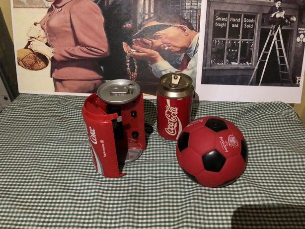 Coca cola leitor cassetes akura