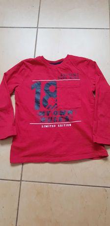 Bluzka czerwona roz.122