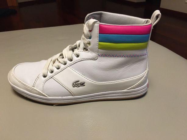 Lacoste buty sportowe białe 37.5