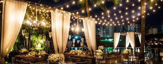 Iluminação - Luzes de Arraial - Festas, Jardins, Esplanadas, etc.